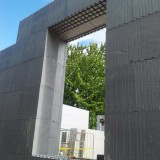 Construction site in Eger
